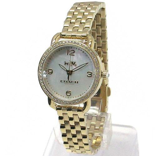 コーチ 時計 レディース COACH アウトレット デランシー レディース ウォッチ ゴールド 腕時計 14502478