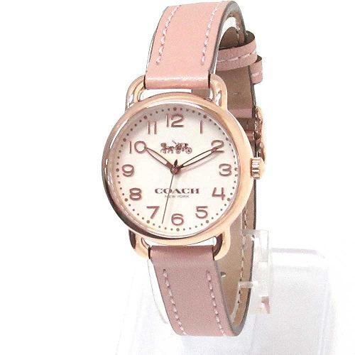 コーチ 時計 レディース COACH アウトレット デランシー レディース ウォッチ ゴールド/ピンク 腕時計 14502750