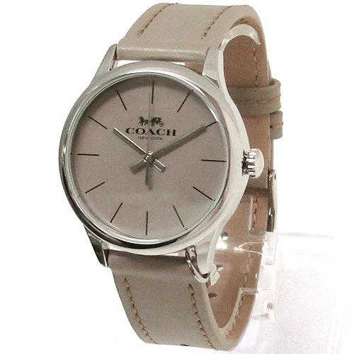 コーチ 時計 レディース COACH アウトレット RUBY ルビー レザー グレージュ 腕時計 14503253 n91101