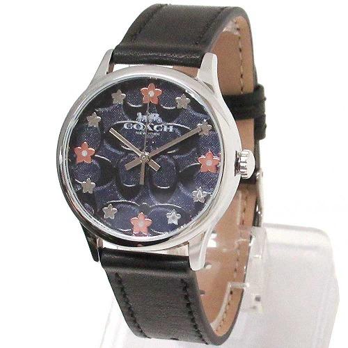 コーチ 時計 レディース COACH アウトレット レザー ルビー シグネチャー フローラル ウォッチ 腕時計 14503292 n91101