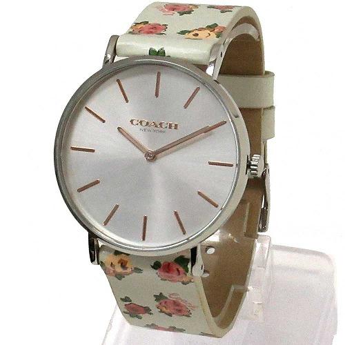 コーチ 時計 レディース COACH アウトレット PERRY ペリー ローズ プリント 腕時計 14503297 n91101