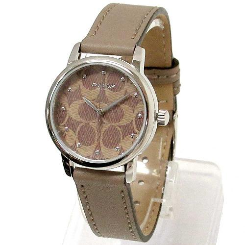 コーチ 腕時計コーチ アウトレット 時計 全店販売中 レディース 店 COACH 腕時計 ストライプ 14503402 レザー シグネチャー