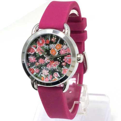 コーチ 時計 レディース COACH アウトレット レックス フローラル ラバー レディース  腕時計 W6215 PIN n70510