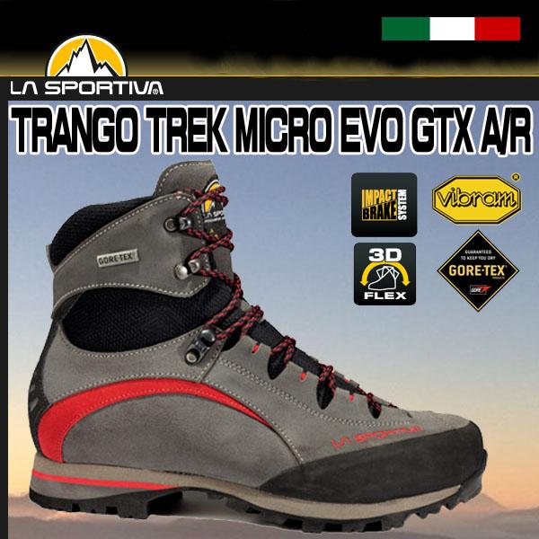 SPORTIVA (スポルティバ) TRANGO TREK MICRO EVO GTX Anthracite/Red 564AR