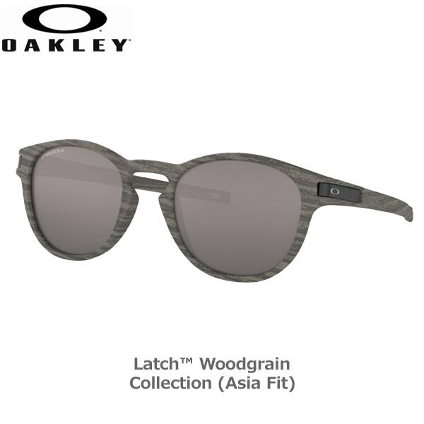 オークリー サングラス ラッチ カジュアル OAKLEY LATCH (A) フレーム Woodgrain レンズ Prizm Black あす楽