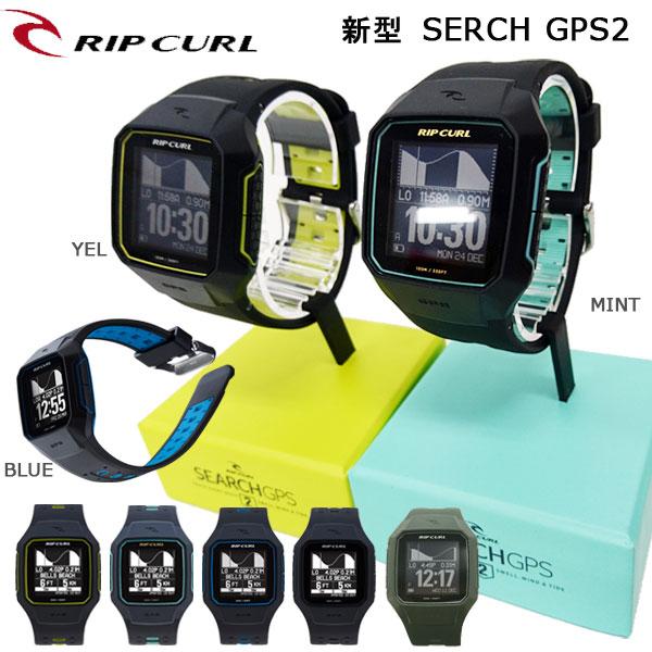 GPSはさまざまなアクティビティに対応 時計 海外 GPS RIPCURL リップカール 新型SERCH GPS2 贈り物 spp20 充電式 タイドグラフ サーフィンのデータを記録