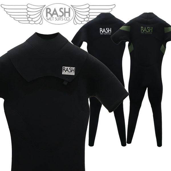 20 RASH ラッシュ MT LIMITED NOZIP シーガル ハイストレッチ マテリアル 3.5/2mm オールジャージ ノンジップ 国産