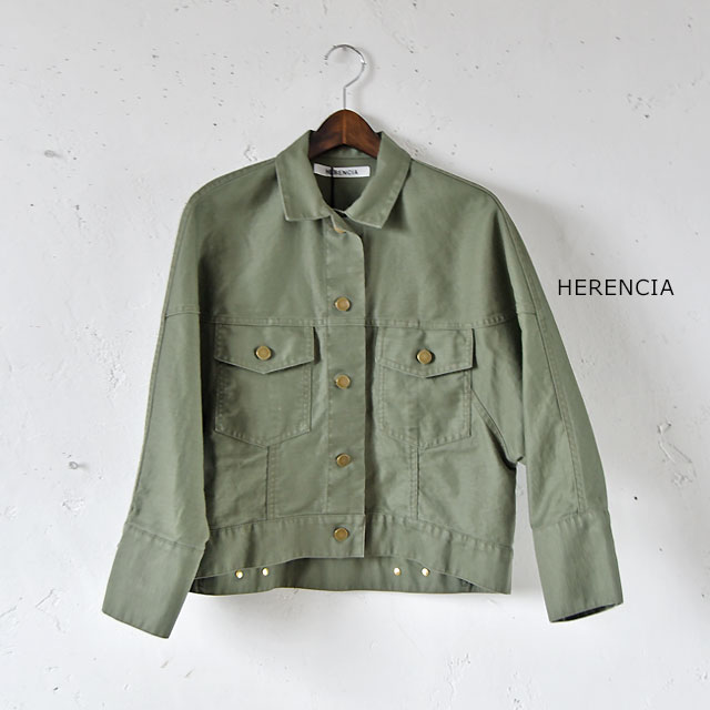 【ジャケット】【HERENCIA】【Angelico Luce】■1491011