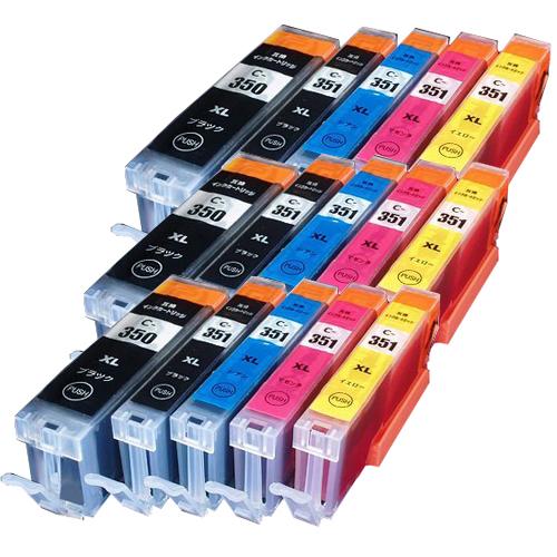 対応プリンタ MG7530F MG7530 MG7130 MG6730 MG6530 MG6330 MG5630 MG5530 MG5430 再販ご予約限定送料無料 MX923 iP8730 iP7230 iX6830 キャノン 5MP ×3 BCI-351XLY CANON BCI-351XLBK BCI-350XLPGBK 対応インク型番 激安格安割引情報満載 5色セット BCI-351XLM 全色染料 BCI-351XLC 互換インク BCI-351XL+350XL