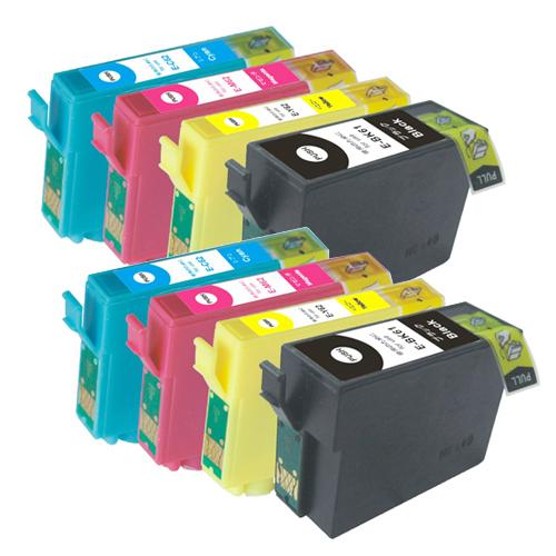 対応プリンタ PX203 PX204 PX205 PX503A PX504A PX504AU PX603F PX605F PX605FC3 PX605FC5 安い 激安 プチプラ 高品質 PX675F PX675FC3 IC4CL6162 ICBK61 ICY62 4色セット ICC62 エプソン 対応インク型番 数量は多 全色顔料 EPSON ICM62 互換インク ×2