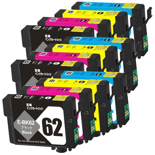 対応プリンタ PX204 PX205 PX403A PX404A PX434A PX504A PX504AU PX605F PX605FC3 PX605FC5 PX675F PX675FC3 激安超特価 IC4CL62 対応インク型番 互換インク ×3 エプソン 4色セット お得なキャンペーンを実施中 ICM62 EPSON ICC62 ICBK62 全色顔料 ICY62