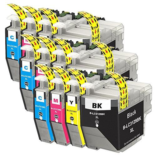 対応プリンタ MFCJ6995CDW LC3129-4PK ×3 4色セット brother ブラザー 期間限定お試し価格 互換インク LC3129M LC3129Y 2020新作 LC3129C 全色染料 LC3129BK 対応インク型番