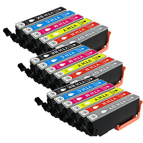 対応プリンタ EP10VA EP30VA YTH-6CL ×3 6色セット EPSON エプソン アウトレット 互換インク YTH-M YTH-Y YTH-C 新着セール YTH-BK YTH-GY 全色染料 YTH-R 対応インク型番