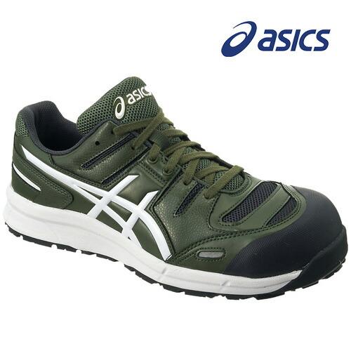 アシックス FCP103-7901 安全靴 ウィンジョブ CP103 チャイブグリーン×ホワイト