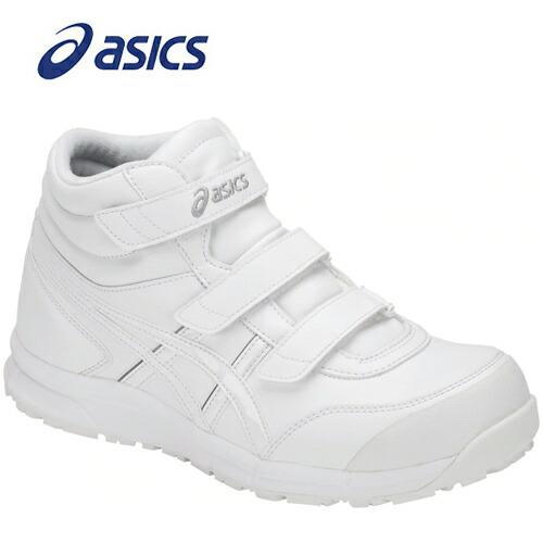 アシックス FCP302-100 安全靴 ウィンジョブ CP302 ホワイト×ホワイト