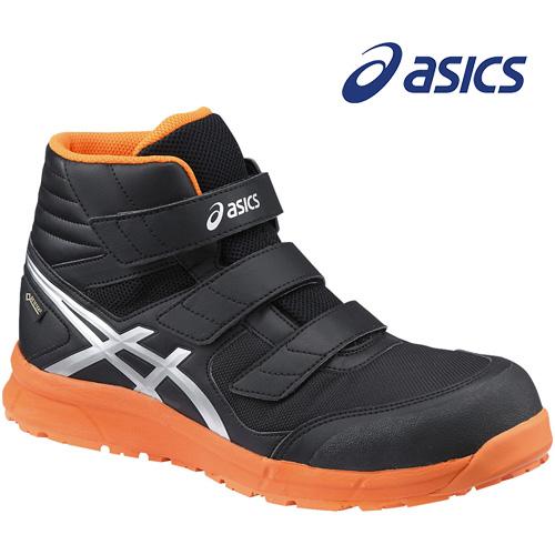 アシックス 安全靴 ウィンジョブ CP601 G-TX ブラック×シルバー FCP601-9093