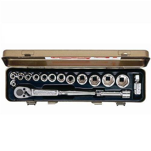 ロブテックス 913SA ソケットレンチセット(差込角9.5mm)