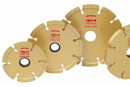 ロブテックス 3.0mm幅 φ127mm セグメントタイプ S12530