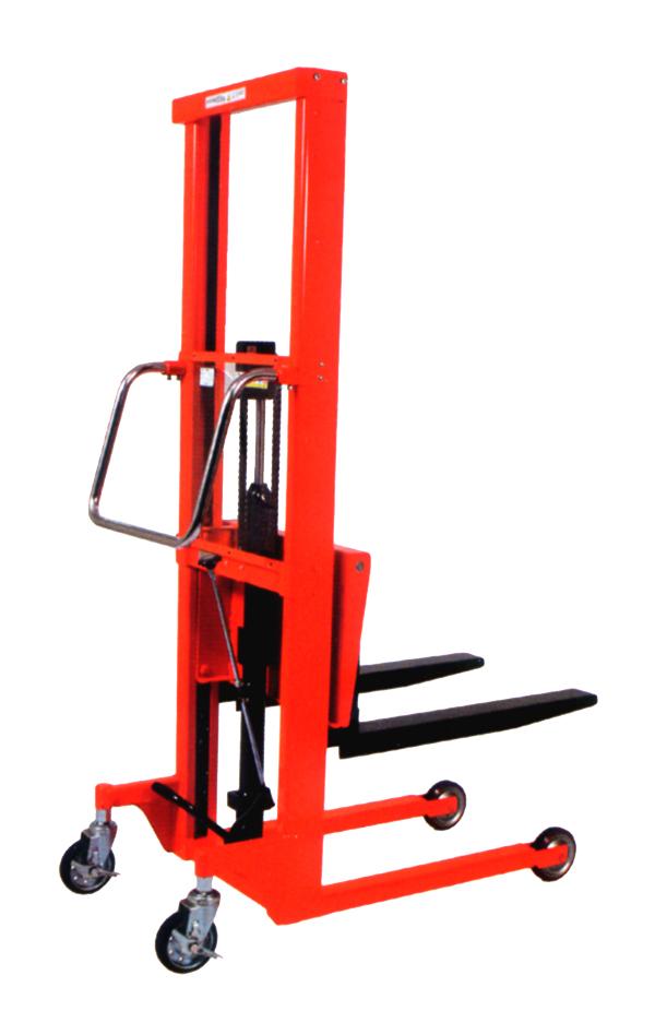 ハマコS.S HFH-H400-12B 油圧足踏式マスト型リフト  高床式ビッグ(大径車輪)