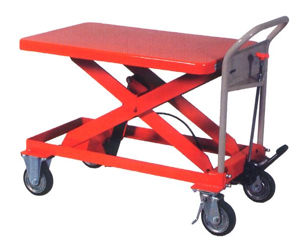 【新発売】 ハマコS.S HLH-1000M 油圧足踏式テーブルリフト台車, キタアズミグン e218af3e