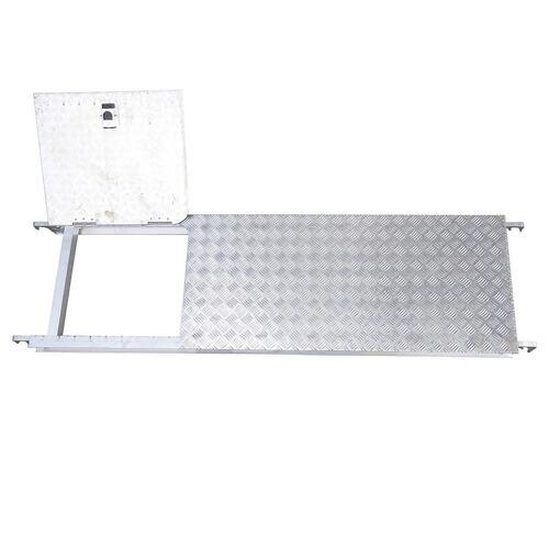 長谷川工業 JAS-AL-FSHDA-AL #16788 高所作業台 ジッピーW オプション アルミ製昇降口付足場板