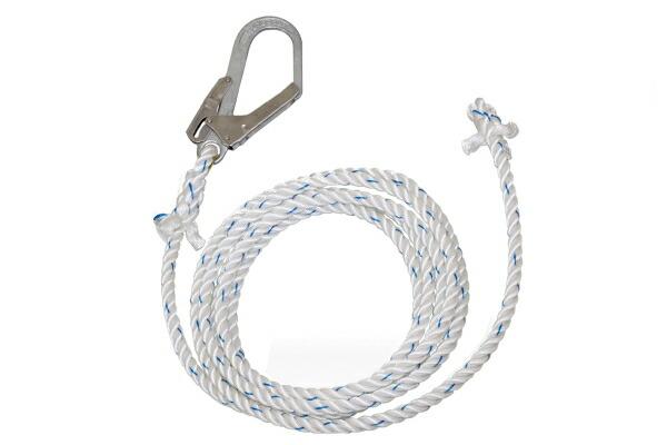 送料無料   藤井電工 母線ロープ L-100 TSUYORON ツヨロン 100m 親綱 垂直移動専用