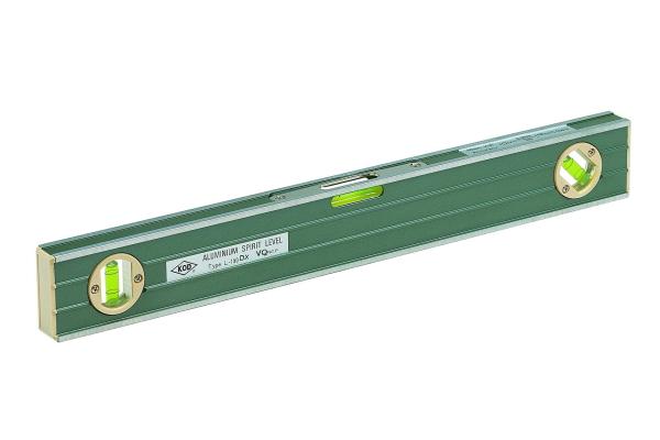 アカツキ 1000mm 大型気泡管精密アルミレベル L-150D-VQ KOD