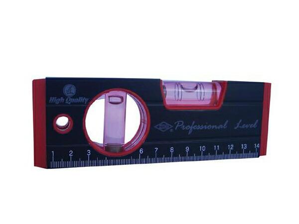レンズ効果と蓄光シートで測定しやすいプロ仕様の水平器 推奨 アカツキ製作所 買い物 アルミ水平器 RB-270 KOD 150mm