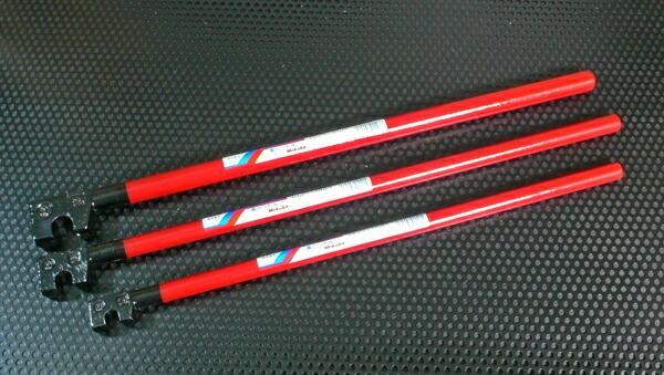 モクバ 小山刃物 完全送料無料 アウトレットセール 特集 D-3 13mm×500mm 長ハンドル 鉄筋曲棒