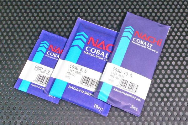 NACHI 半額 CD-3.3mm 10本袋入 コバルトストレートドリル 上質