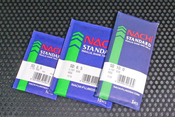 NACHI SD-10.1mm ストレートドリル 5本袋入り