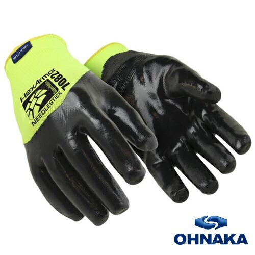 HexArmor 大中産業 #7082 耐針シリーズ シャープマスターHV手袋 耐切創性、耐針性のある手袋