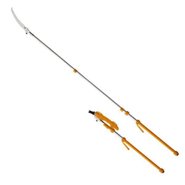 シルキー ロングボーイ 1.45m~3.6m 伸縮3段 折込式枝打ち鋸 365-36