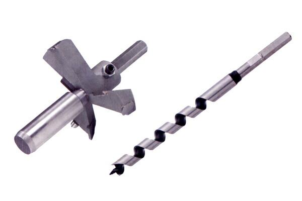 スターエム/STAR-M #28L-D2185 超硬座掘錐 大口径 No.28L 21×85mm(ドリル付) ガイド×カッター+ドリル280L
