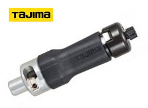 タジマツール TJM DK-MSDK38 ムキソケD 高圧 38mm2 CV線 6600V用皮剥きソケット ラチェット式絶縁体剥離工具