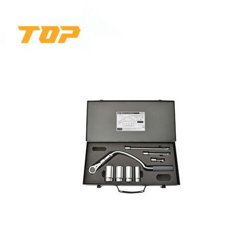 TOP/トップ工業 RH-4LYS 弓形ラチェットハンドルセット(差込角12.7mm)