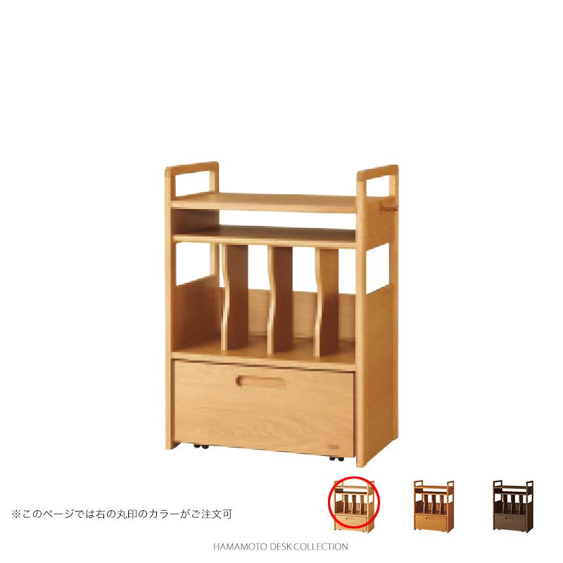 浜本工芸 学習机 No.1504 ランドセルラック (ナチュラルオーク色)【店頭受取対応商品】