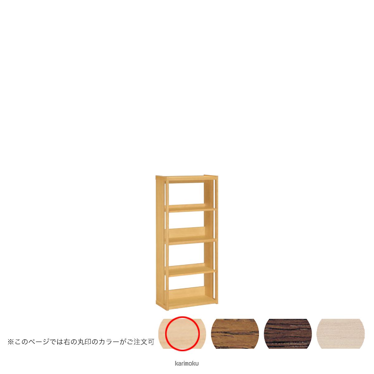 カリモク 書棚 HT2265 [オープンタイプ] (ピュアオーク色)【全国送料無料】【同梱不可】【店頭受取対応商品】