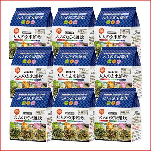 Adult Brown rice porridge 54 food set local porridge ( local porridge ) fs3gm