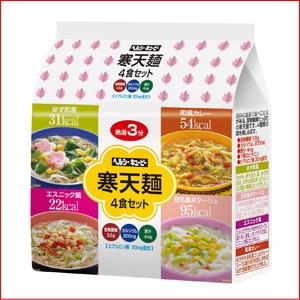 Agar noodles 4 food set (no cups) ♪ low diet food ♪ healthy kewpie local noodle fs3gm