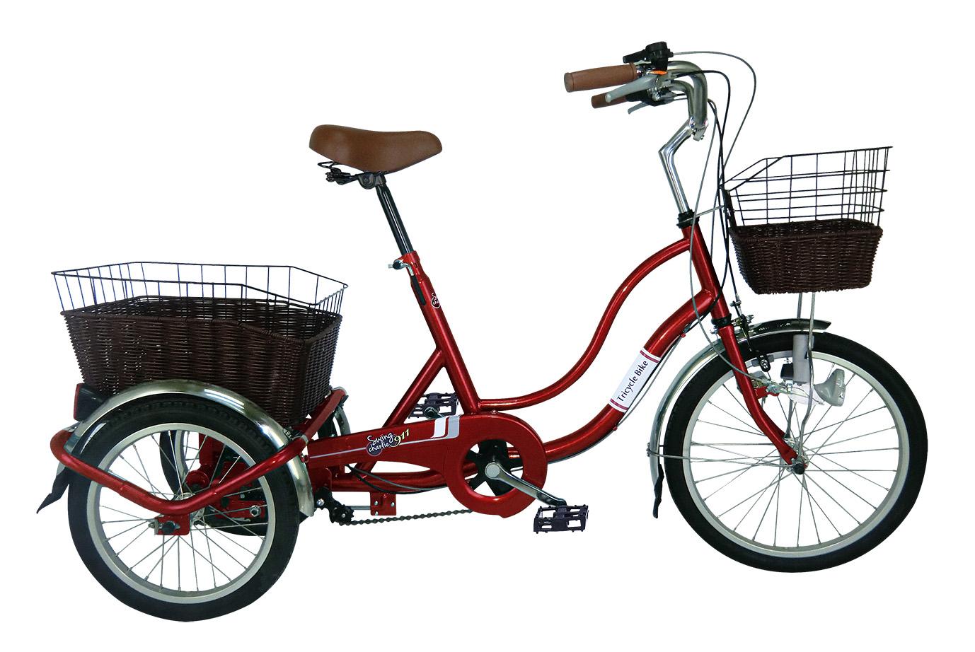 大回りしない 小回りが効くスイング機能 SWING CHARLIE911 ノーパンク三輪自転車G MG-TRW20NG ワインレッド 激安自転車 ミムゴ MIMUGO 通販 おすすめ特集 05P27May16 3輪自転車 安心の実績 高価 買取 強化中