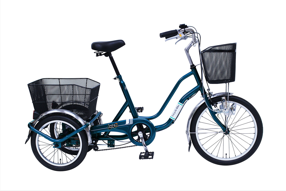 SWING CHARLIE 三輪自転車MG-TRW20E グリーン [3輪自転車][ミムゴ MIMUGO][激安自転車 通販]