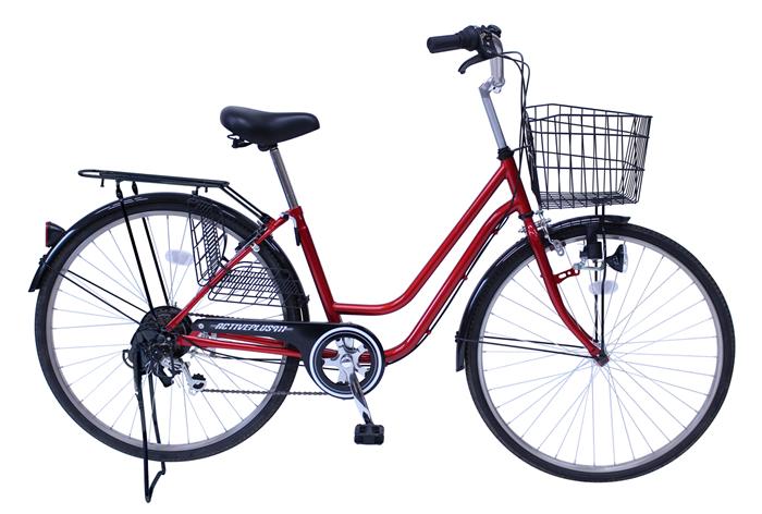 ACTIVEPLUS911 ノーパンク26インチ軽快車266SF MG-TCG266NF[アクティブプラス 自転車][ミムゴ MIMUGO][激安自転車 通販]05P27May16