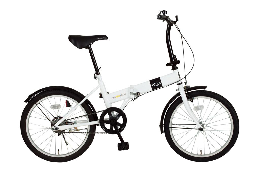 折り畳み自転車20インチ 【CHEVROLET シボレー】 /(ホワイト)〔MG-CV20R〕/(二輪車 チャリンコ おしゃれ自転車 オシャレ自転車 サイクリング 通販 折りたたみ自転車 折畳み自転車 ミムゴ/)