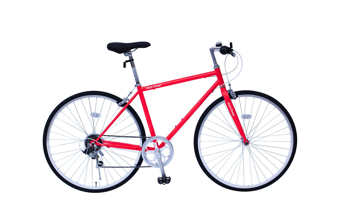 FIELD CHAMP 700Cクロスバイク6段ギア レッド MG-FCP700CF-RD[フィールドチャンプ 自転車][ミムゴ MIMUGO][激安自転車 通販]05P27May16