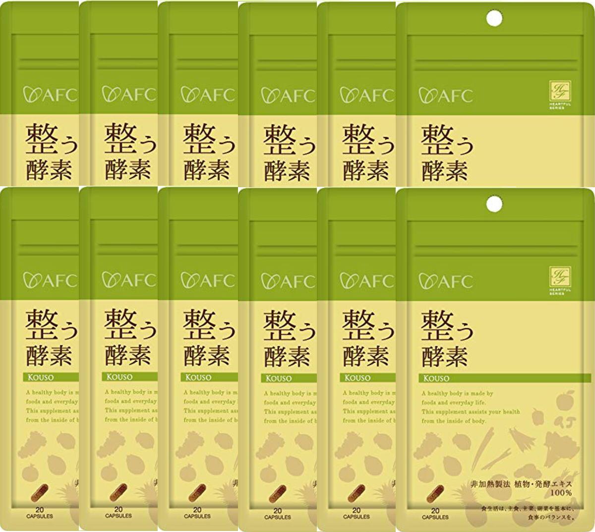 AFC 整う酵素《10日×12袋セット》ハートフルシリーズ(エーエフシー サプリメント)