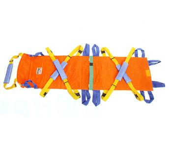 ベルカ 救助担架 DSB-6(別袋付き) 代引手料無料 送料無料 災害 緊急 レスキュー ワンタッチ式ベルト 防災グッズ