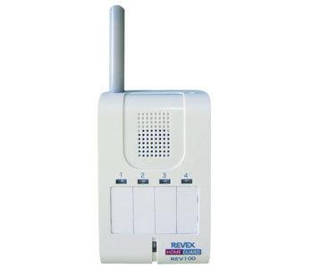 ホームガード 携帯受信チャイム REV100 代引手料無料 送料無料 抜群の飛距離 ワイヤレスチャイム 介護アシストシステム REV100 リーベックス 防犯グッズ
