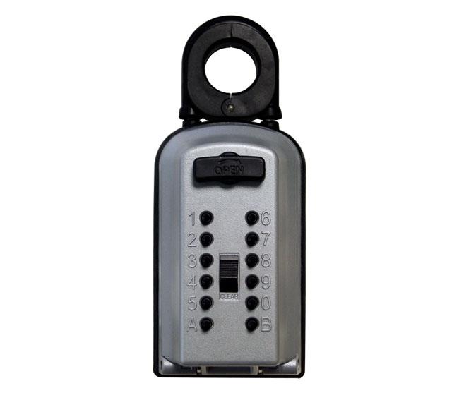 キーボックス カギ番人 PC10 南京錠型プッシュ式 代引手料無料 送料無料 プラス plus 鍵 保管庫 ケイデン