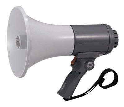 ハンド型メガホンER-1115 代引手料無料 送料無料 拡声器 TOA 安全用品 安全グッズ 安全用品